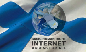Image result for finland internet human right